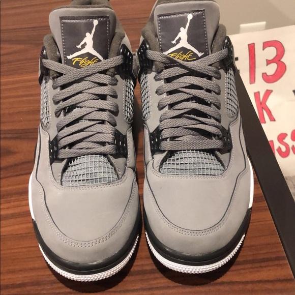 Jordan Shoes   Jordan 4 Cool Grey